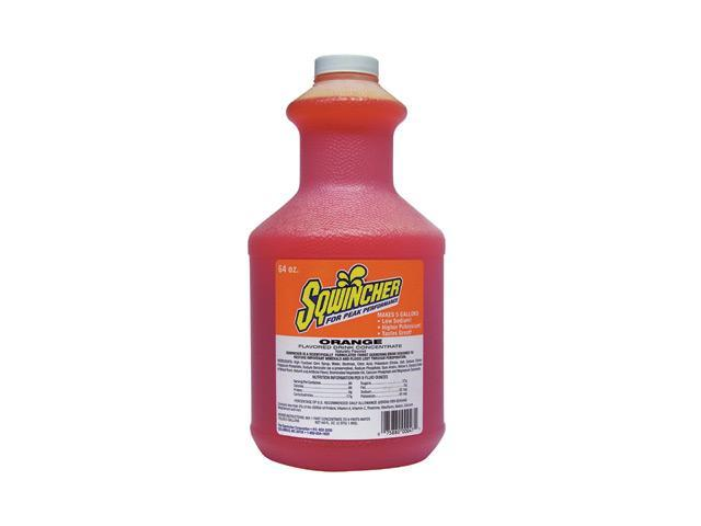 Sqwincher 64 Ounce Liquid Concentrate Orange Electrolyte Drink - Yields 5 Gal...