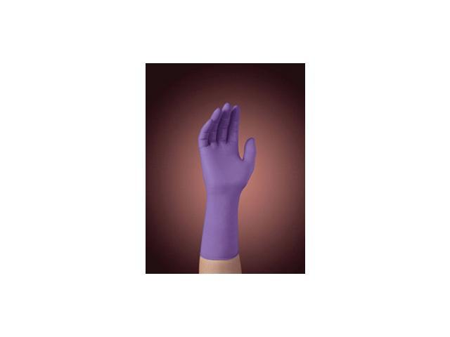 "Kimberly-Clark Small Purple 12"" Nitrile-Xtra* Nitrile Ambidextrous Powder-Fre..."