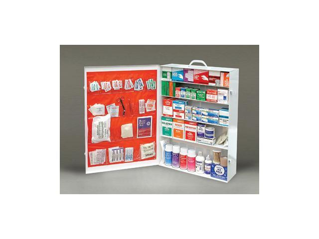 Five-Shelf 100 Person Durable Metal Industrial First Aid Cabinet