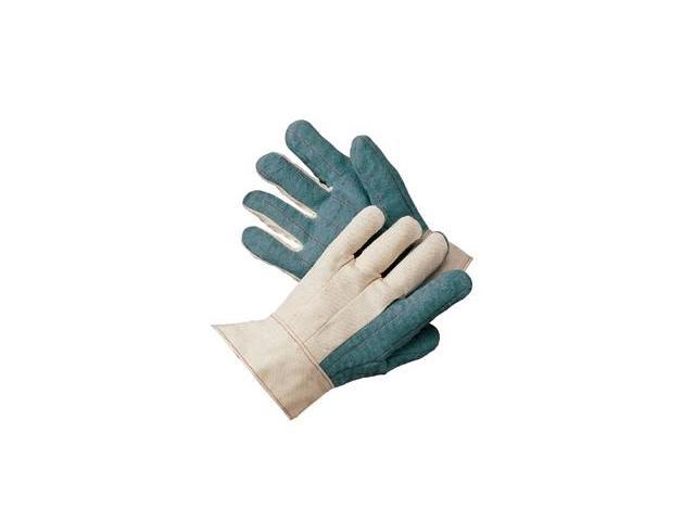 Heavy-Weight Green Palm Nap-Out Hot Mill Glove