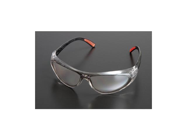 Action Series Safety Glasses - Clear Frame And Clear Lens - 64051271