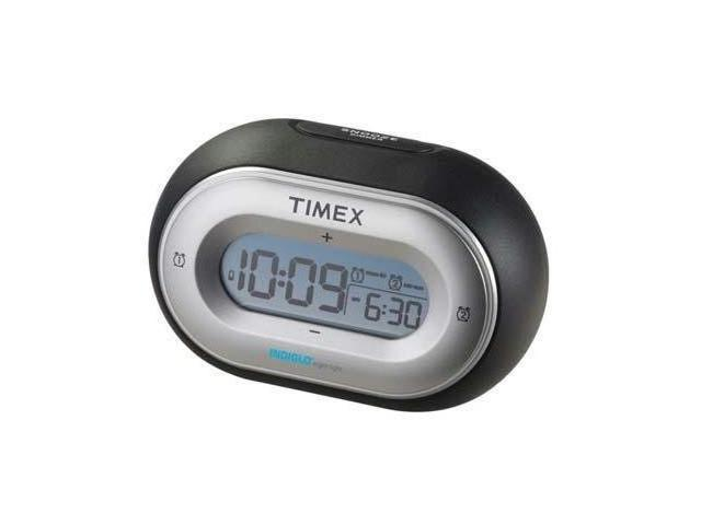 Timex Nano Color - Black Alarm Clock AM/FM Radio