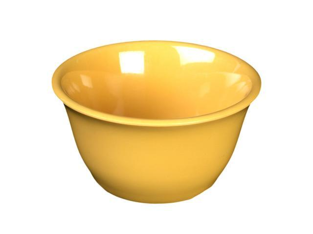 Excellante Yellow Melamine Collection 4-Inch Bouillon Cup, 7-Ounce, Yellow - Dozen