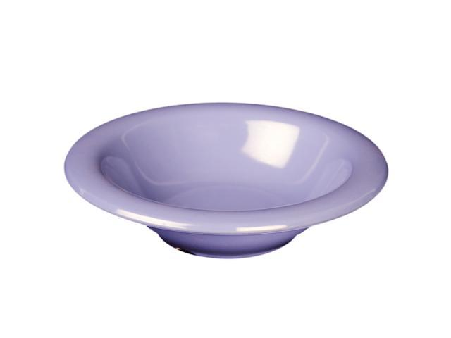 Excellante Blue Melamine Collection 7-1/2-Inch Soup Bowl, 16-Ounce, Blue - Dozen