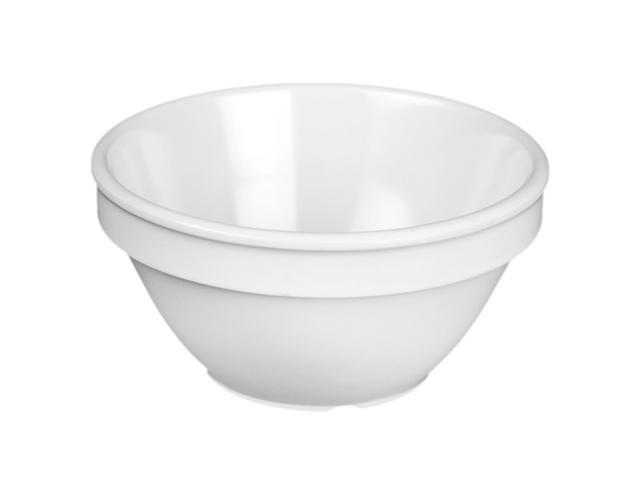 Excellante White Melamine Collection 4-1/4-Inch Bouillon Cup, 8-Ounce, White - Dozen