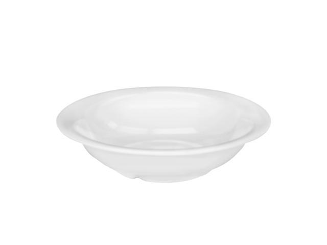 Excellante White Melamine Collection 7-1/4-Inch Soup Bowl, 12-Ounce, White - Dozen
