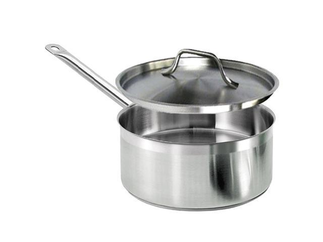 Excellante 3 1/2 QT 18/8 Stainless Steel Sauce Pan - Each