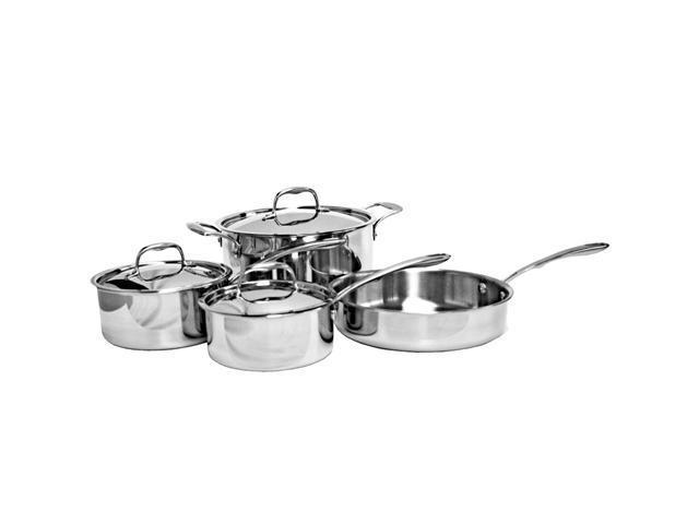 Excellante TRI-PLY Cookware, 7 Pieces Set