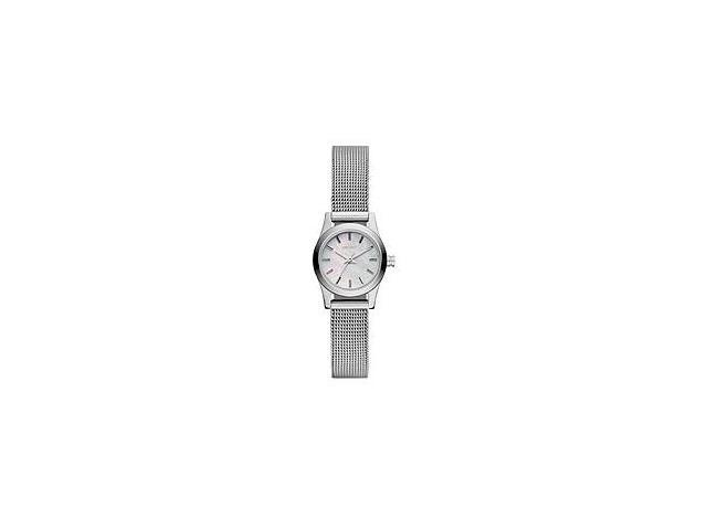 DKNY Women's NY8642 Silver Stainless-Steel Quartz Watch with Mother-Of-Pearl Dial