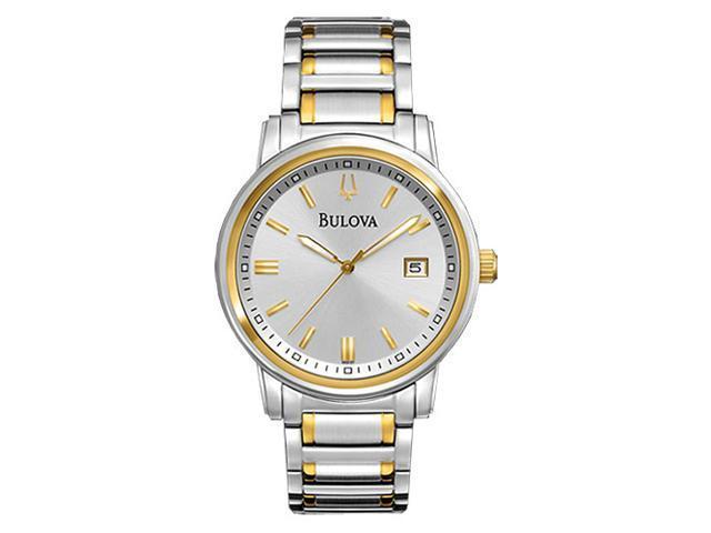 Bulova Mens Dress Quartz 98B157 Watch