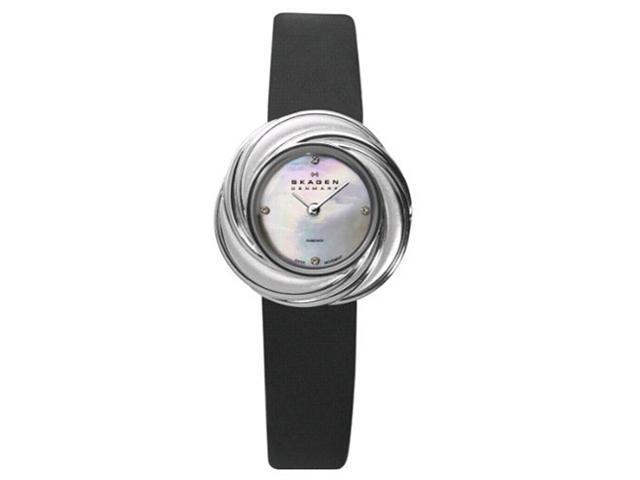 Skagen Jewerly Inspired Swiss Case Ladies Watch 885SSLB