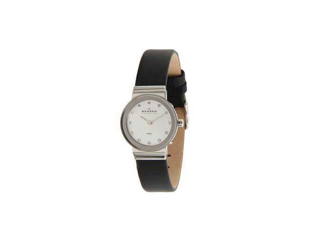 Skagen Women's Leather watch #358XSSLBC