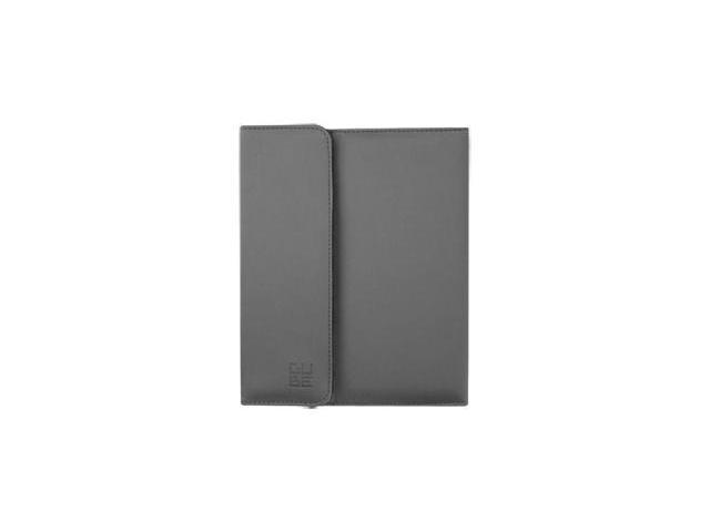 G-CUBE R-360 iPad 2 Case (GPADR-77S) - Metallic Grey