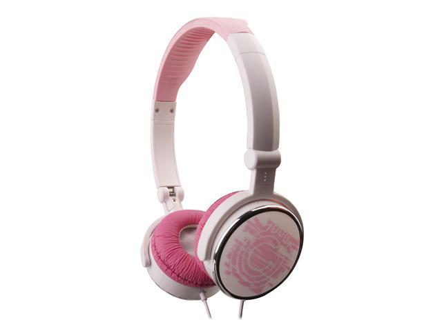 G-Cube iHP Pop-G Dual Mode Foldable Headset w/ Built-In Mic - Pink
