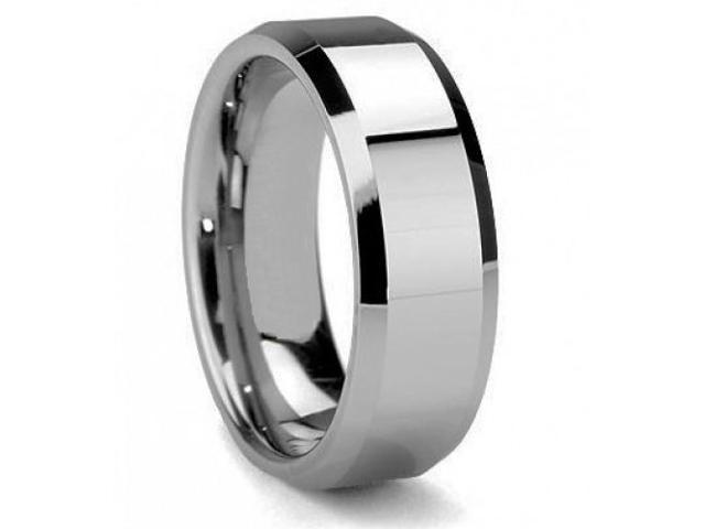 Mabella ER009-13 Men's Olympus Tungsten Carbide Wedding Band Ring