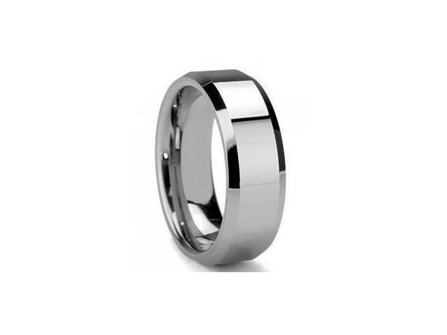 Mabella ER009-12 Men's Olympus Tungsten Carbide Wedding Band Ring