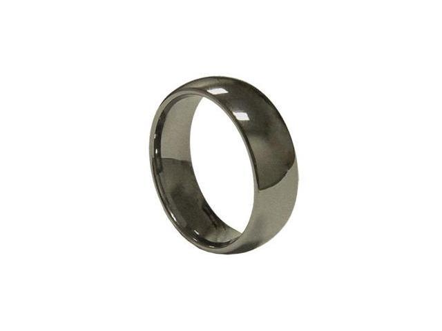 8mm Mens simpleTungsten Wedding Band Ring