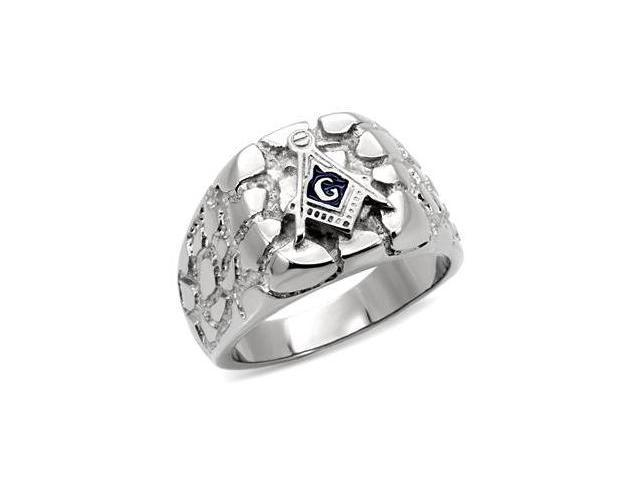 Edgy Collection Mens Fashion 316L Stainless Steel Ring
