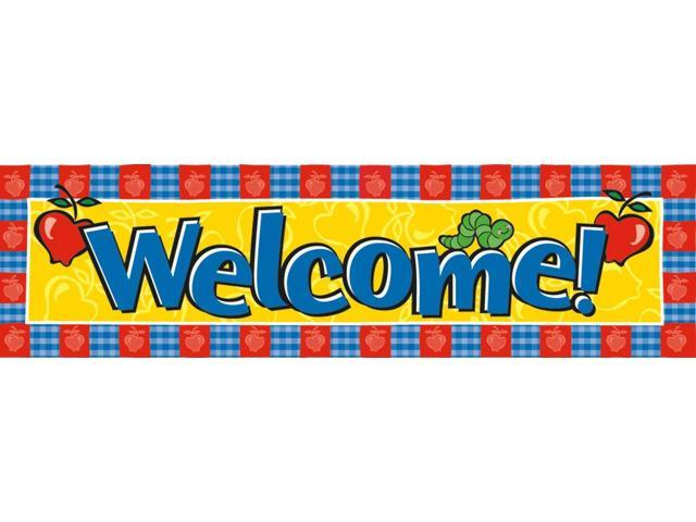 Eureka Classroom Banner, Welcome, 12 x 45 Inches (849450)
