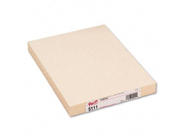 PACON CORPORATION PAC5111 HEAVYWEIGHT MANILA TAGBOARD 9 INCHX 12 INCH