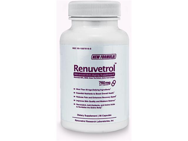 RENUVETROL - Advanced Anti-aging Supplement