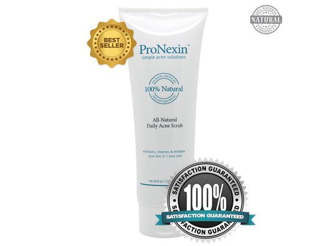 PRONEXIN - Natural Face Scrub Acne Treatment - Removes Dead Skin and Dirt