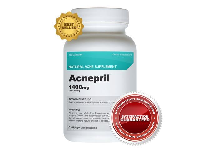 Acnepril - Get Rid of Acne Forever - Detoxify Skin and Body - Essential Nutrients