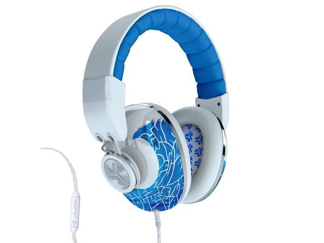 JLab Bombora Over the Ear Headphones with Universal Mic