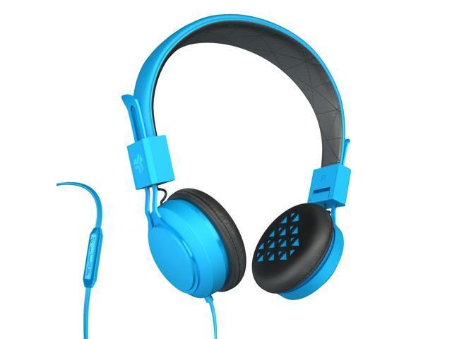 JLab INTRO Premium On-Ear Headphones, with Universal Mic