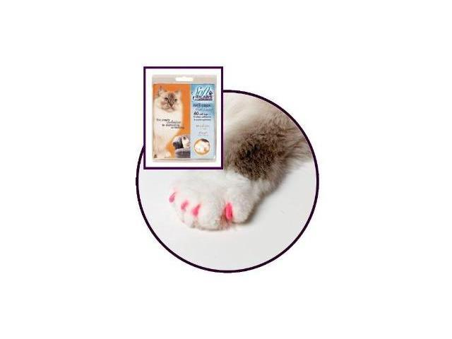 Soft Claws - Large Pink - The Simple Solution to destructive Scratching