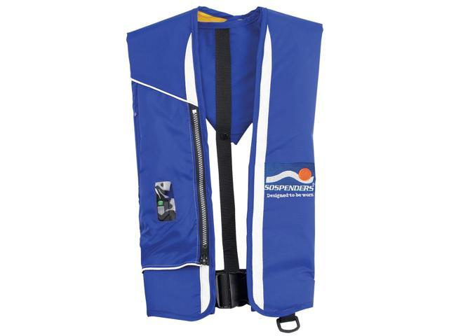 Stearns 1439BLU-00-000S Stearns 1439 Ultra 4000 Automatic-Manual Inflatable PFD