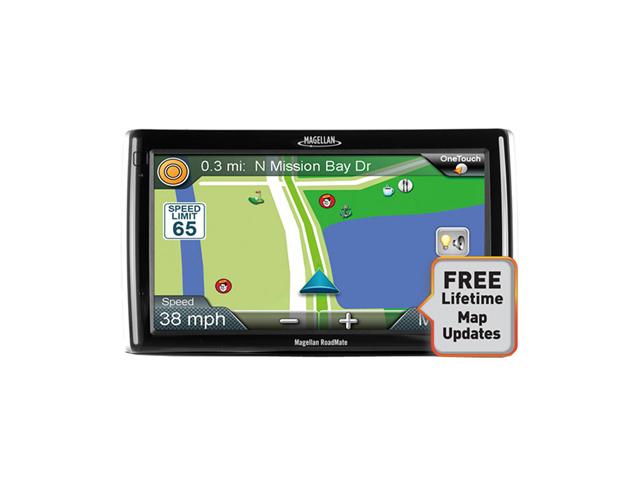 Magellan RoadMate RV9145-LM 7 Touchscreen GPS w/Lifetime Maps