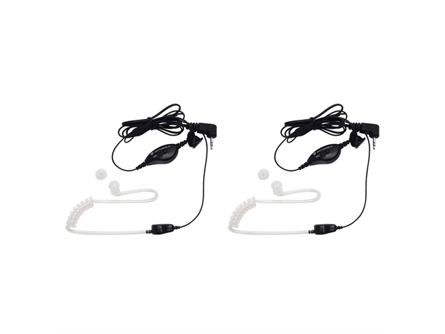 MOTOROLA 1518 2-Way Radio Accessory (2-Way Radio Surveillance Headset with PTT Microphone)