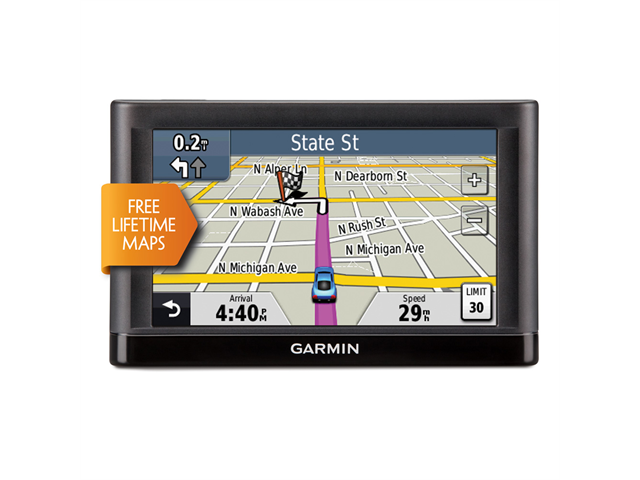 Garmin Nuvi LM GPS With Lifetime Maps US Neweggcom - Garmin map indonesia us