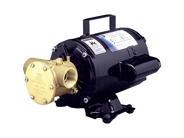 Jabsco Utility Pump w/Open Drip Proof Motor - 115V