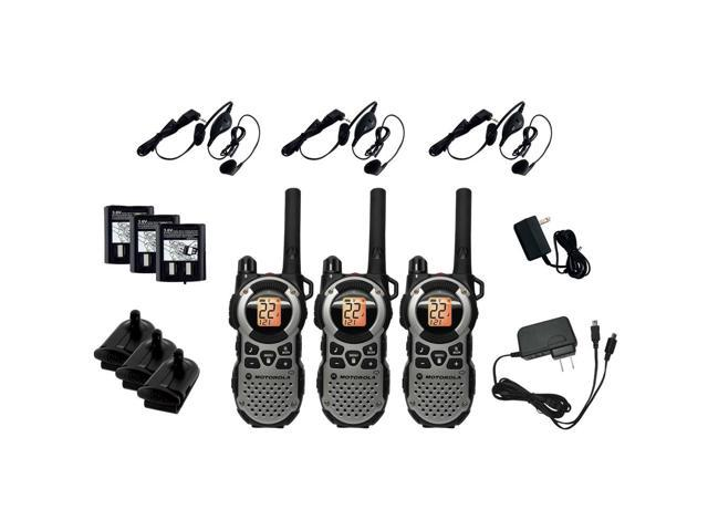 Motorola MT352TPR 35 Mile 3 Radio Value Pack
