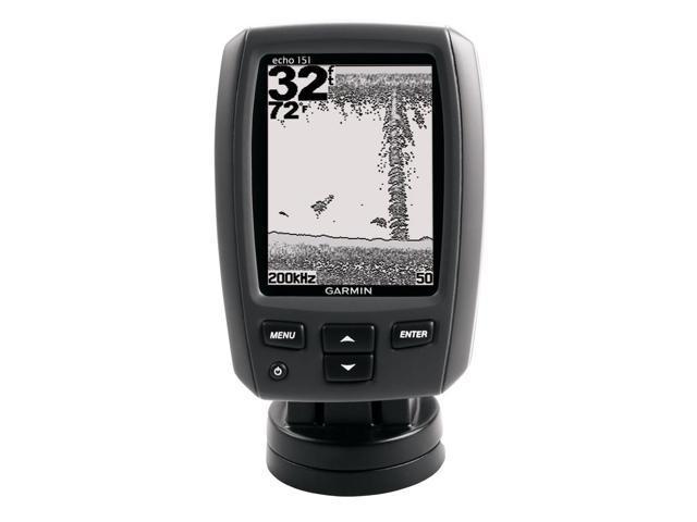Garmin echo™ 151 Fishfinder w/Dual Beam Transducer