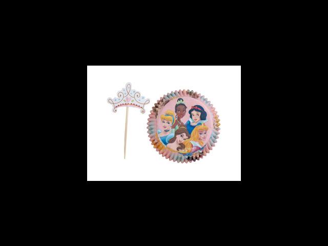 24 Wilton Disney Princess Pack Cupcake Baking Cups
