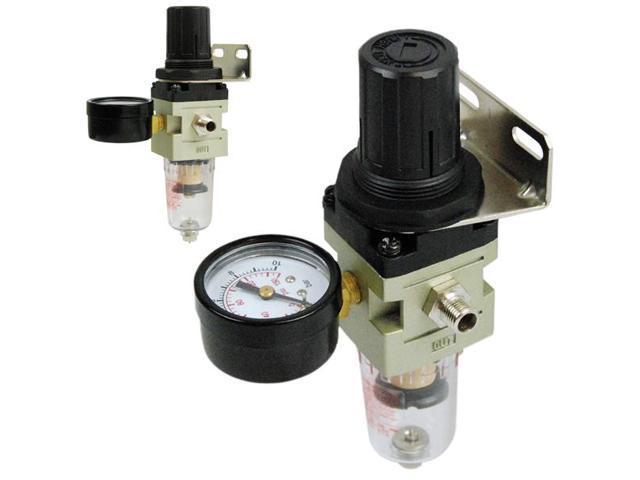 hd air pressure regulator airbrush compressor gauge water trap moisture filte. Black Bedroom Furniture Sets. Home Design Ideas