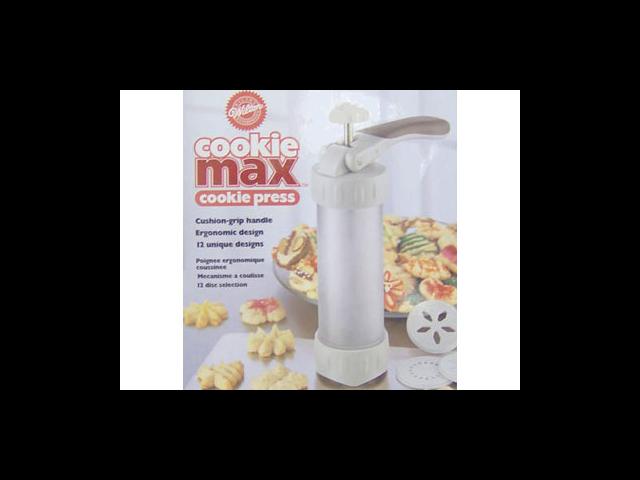 Wilton COOKIE MAX COOKIE PRESS SET KIT Easy Dough Pump