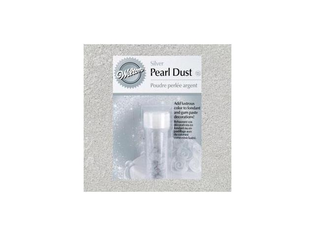 Wilton SILVER PEARL DUST Cake Decorating Fondant Luster
