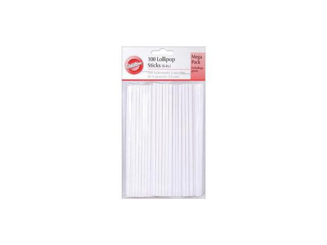 Lollipop Sticks 100/Pkg-6