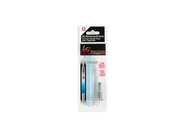 Sakura KOI Waterbrush-#6 MED Round Brush 9ml Water Tank