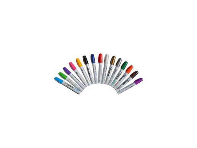 Sharpie Paint Marker Pen Oil Based Fine Point 15 Color Ultimate Kit