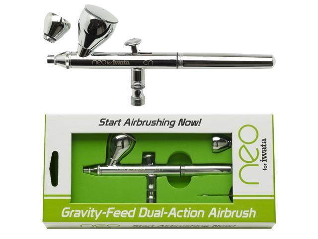 Gravity Feed Dual Action Neo Airbrush