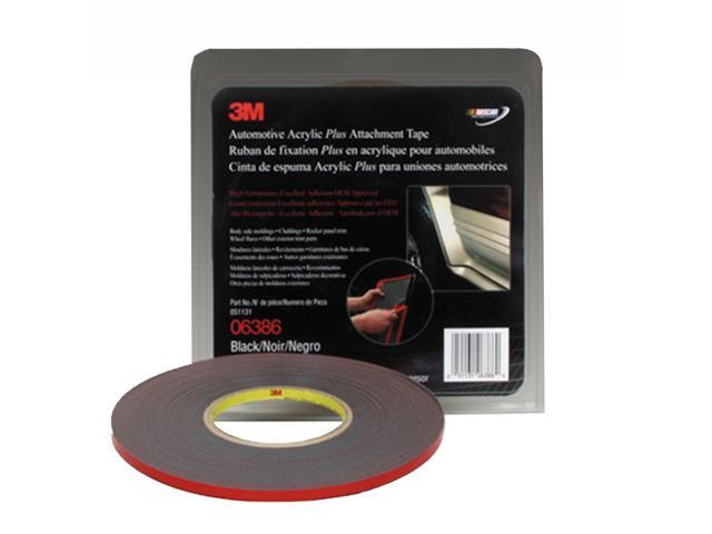 3M Automotive Acrylic Plus Attachment Adhesive Tape 1/4