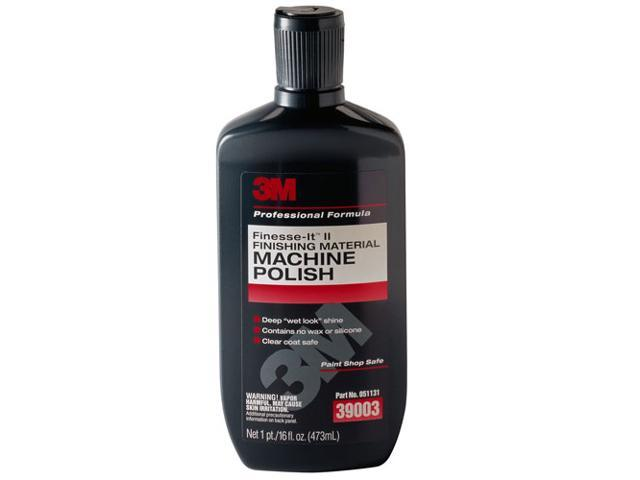 3M Finesse It Finishing Machine Auto Detail Wet Look Polish 16 oz Bottle 39003