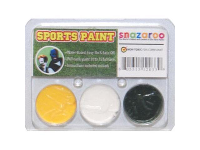 SNAZAROO Packers Football Fan FACE PAINTING KIT Paint Set