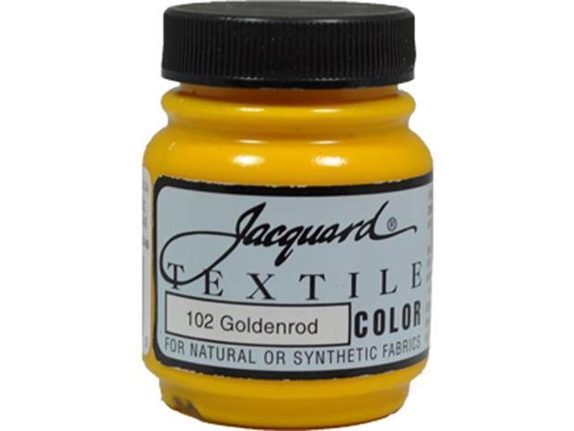 Jacquard Textile Color #102 GOLDENROD 2.25oz T-Shirt Fabric Ink Airbrush Paint