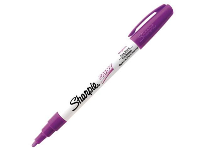 Sharpie Paint Marker Pen Oil Based Fine Point Magenta